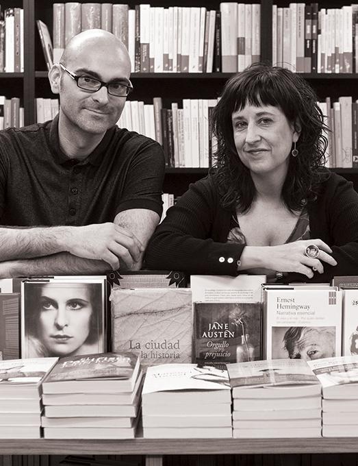 Eva Cosculluela y Félix González